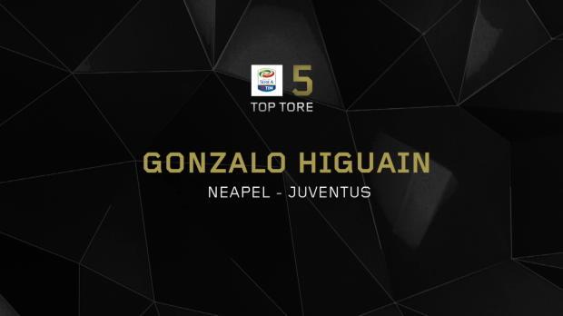 Top 5: Higuain sticht Ex-Klub Neapel ins Herz