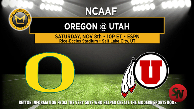 Oregon Ducks @ Utah Utes