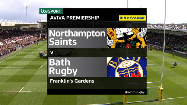 Aviva Premiership - Match Highlights - Northampton Saints v Bath Rugby