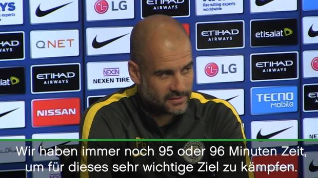 """Guardiola: """"Watford wird ein Finale für uns"""""""