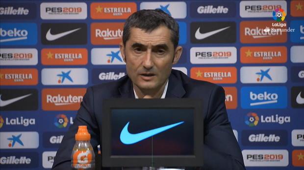 """Valverde: """"Wollen Tabelle immer anführen"""""""