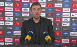 Tony Popovic said his side needs to improve in the attacking third following their 1-1 draw with Perth Glory.