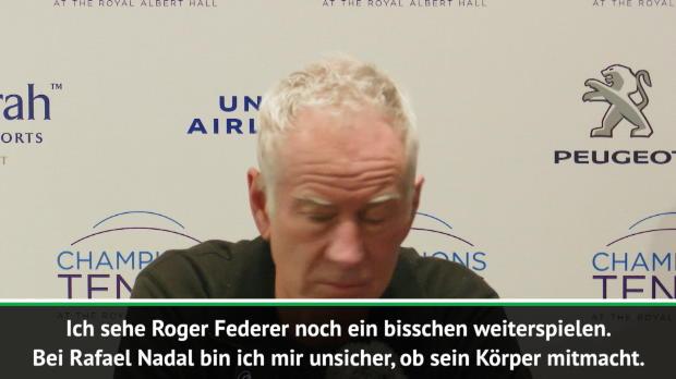 McEnroe huldigt Federer, Nadal und Djokovic