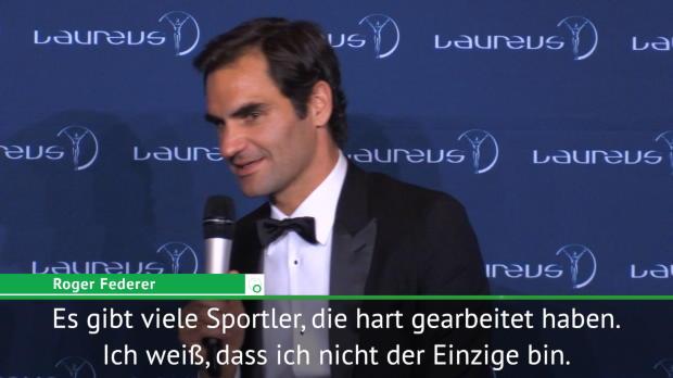 """Federer räumt ab: """"Es ist ziemlich verrückt"""""""