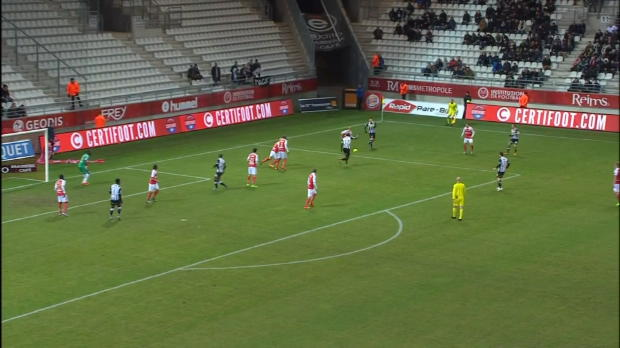 Ligue 1 Round 24: Reims 2-1 Angers
