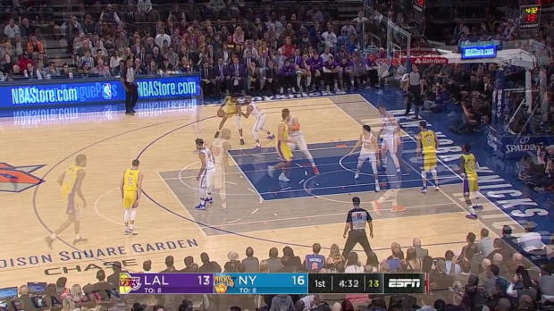 WSC: Lonzo Ball 17 points vs the Knicks