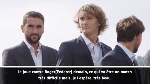 """Tennis : Zverev - """"Le tournoi n'est pas terminé"""""""