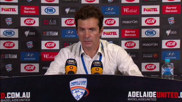 Adelaide United Rd14 press conference