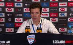 Gui Amor thanked Reds fans for their unwavering support after United went down to Victory at Coopers Stadium.