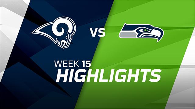 Los Angeles Rams vs. Seattle Seahawks highlights | Week 15