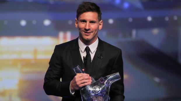 Messi, MVP de la Champions