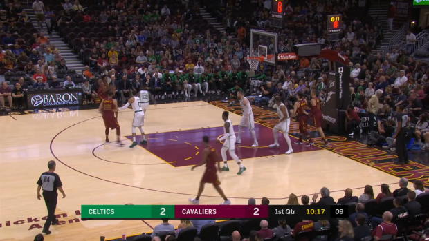 Boston Celtics at Cleveland Cavaliers Recap
