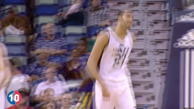 Utah Jazz' Top 10 Plays of 2016-2017 Season