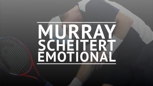 AO: Angeschlagener Murray scheitert emotional