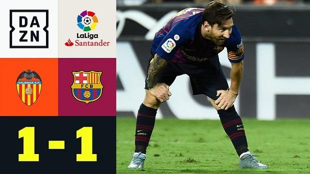 LaLiga: Valencia - FC Barcelona | DAZN Highlights