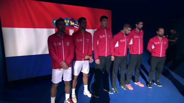 Davis Cup: Frankreich - Kroatien (Finale) - Tag 2
