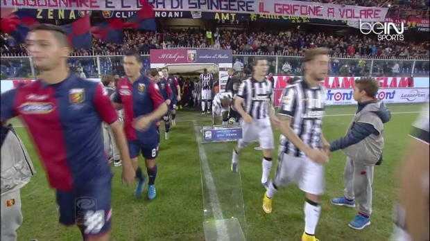 Serie A : Genoa 1-0 Juventus