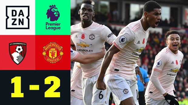 Premier League: Bournemouth - Man United   DAZN Highlights