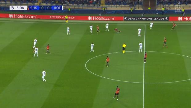 UEFA Champions League: Schachtjor Donezk - TSG Hoffenheim   DAZN Highlights