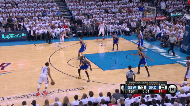 WSC: Russell Westbrook posts 36 points, 11 assists & 11 rebounds vs. the Warriors, 5/24/2016