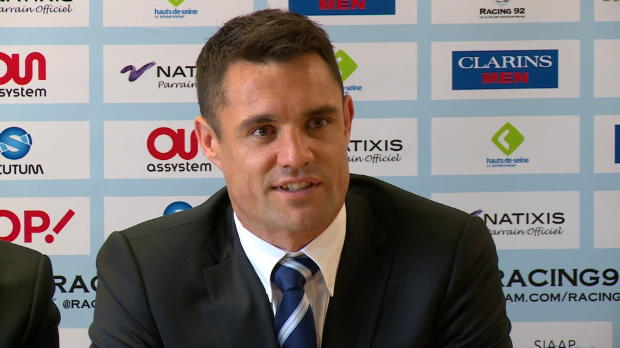 Top 14 - Racing:M�tro 92 : Dan Carter : 'Je veux m'int�grer au plus vite'