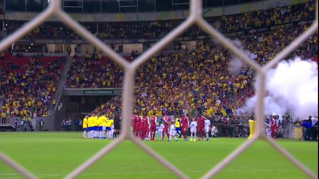 Brasilien - Katar | DAZN Highlights