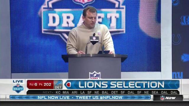 Lions pick Anthony Zettel No. 202