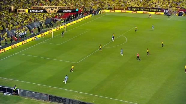 Copa Libertadores: Gremio überrolt Barcelona