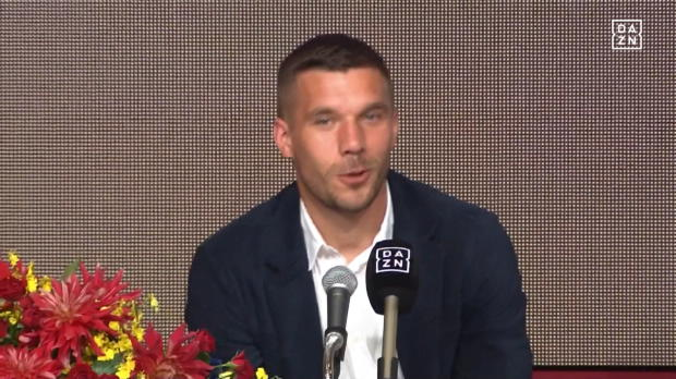 J-League: Japan feiert Feinschmecker Podolski