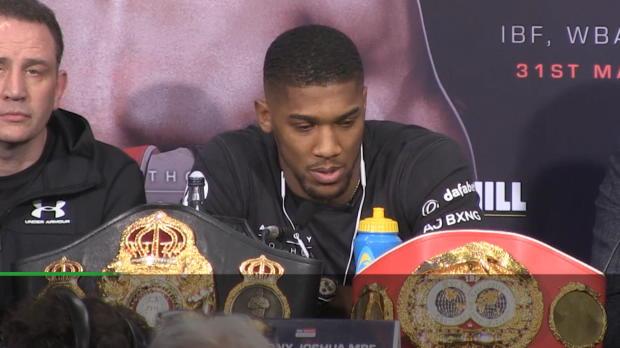 Boxen: Joshua: Ich knocke Parker sicher aus!