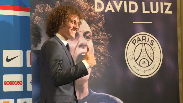 Foot Transfert, Mercato PSG - David Luiz officiellement Parisien