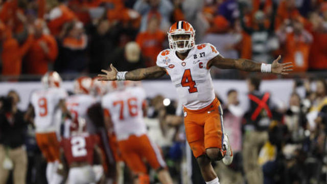 What can Deshaun Watson do to help raise stock at combine?