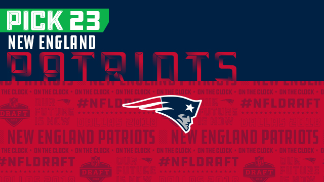 New England Patriots pick No. 23 | NFL Mock Draft Live
