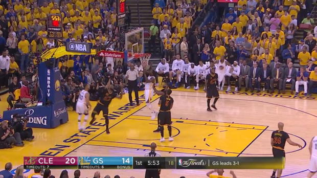 WSC: Highlights: Stephen Curry (34 points) vs. the Cavaliers