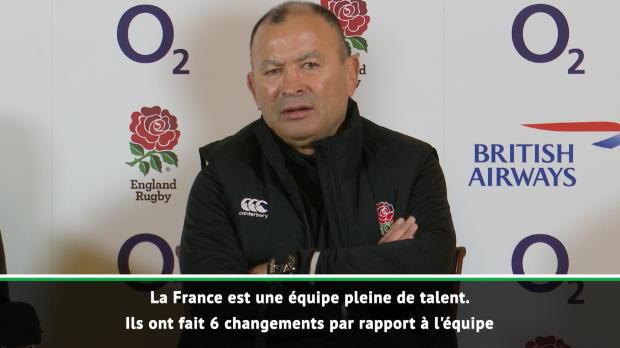 VI Nations : VI Nations - Jones - 'La France est une équipe pleine de talent'
