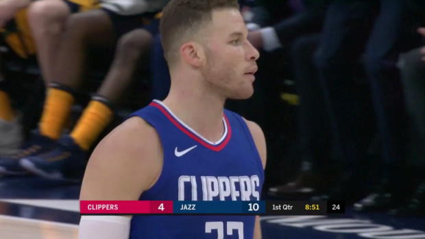 WSC: Blake Griffin (25 points) Highlights vs. Utah Jazz