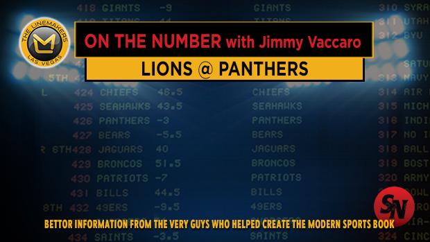 Jimmy V on Lions @ Panthers