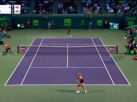 تنس: بطولة ميامي: فينوس وليامز تهزم كيربر 7-5 6-3