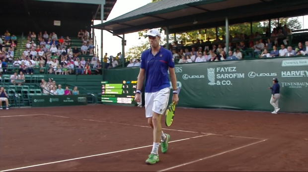 : Houston - Querrey dispose de Frantangelo