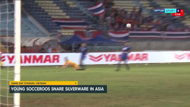 Young Socceroos claim Asian silverware