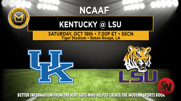 Kentucky Wildcats @ LSU Tigers