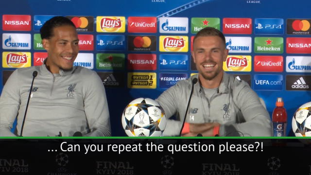 You're the skipper, you can answer! - Henderson and van Dijk try to avoid question Thumbnail