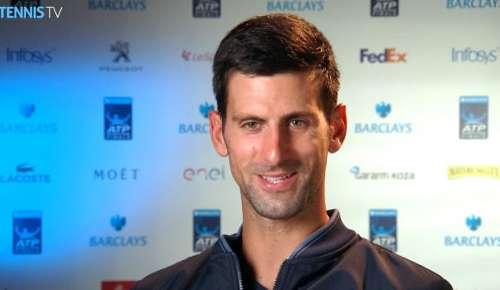Djokovic Interview: ATP World Tour Finals RR