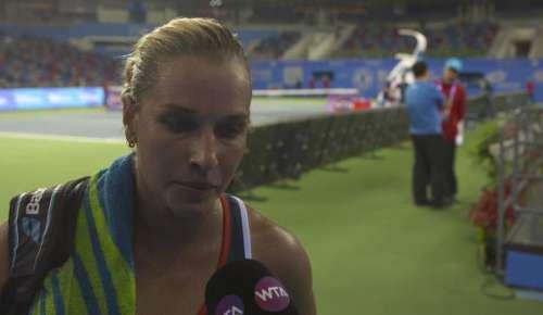 Cibulkova Interview: WTA Wuhan QF