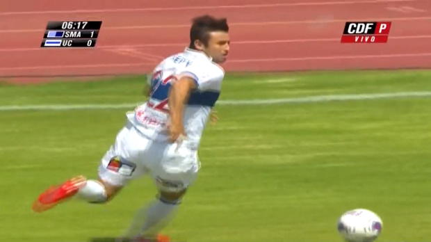 Le gardien de San Marco, a sauvé le point du nul en Primera División contre Universidad Catolica (3-3). Pedro Carrizo s'est imposé devant Erick Pulgar et Alvaro Ramos.