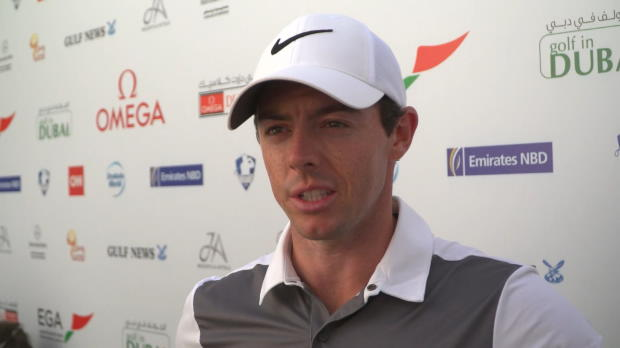Defending champ McIlroy pleased with opening round