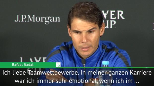 """Laver Cup: Nadal: """"Ich liebe Teamwettbewerbe"""""""