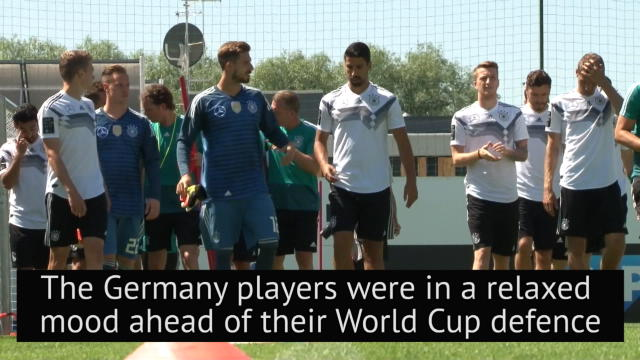 Germany fool around at World Cup squad photograph Thumbnail