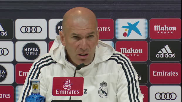 Real - Zidane - 'On recrutera certainement un peu plus'
