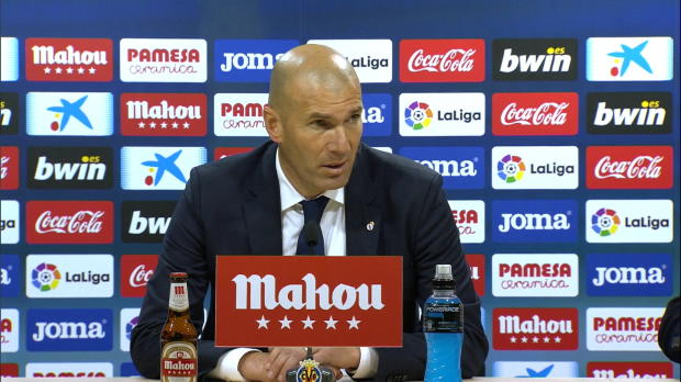 Zidane über Comeback-Sieg, Bale und Morata